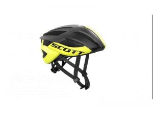 CASCO SCOTT ARX PLUS 2016, NERO-GIALLO OPACO
