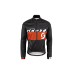 GIACCA CICLISMO SCOTT JACKET RC TEAM AS 10, NERO-ARANCIO