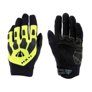 DIAMANTE GUANTI ENDURO GLOVES MX11, NERO-GIALLO FLUO taglia S