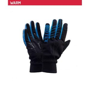 BIOTEX GUANTI TERMICI SUPERWARM, NERO-BLU