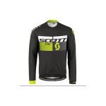 MAGLIA CICLISMO SCOTT SHIRT RC AS WP L/SL NERO-VERDE NEON