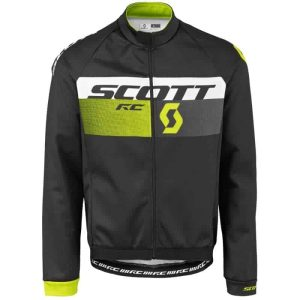 GIACCA SCOTT JACKET RC AS NERO-GIALLO ZOLFO