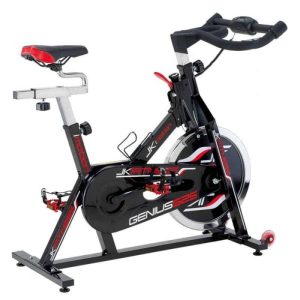 CYCLETTE JK HOME FITNESS GENIUS 525 TRASMISSIONE A CATENA + CARDIO PALMARE