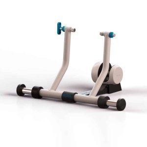 RULLO CICLISMO BKOOL SMART GO TRAINER + SIMULATOR colore BIANCO