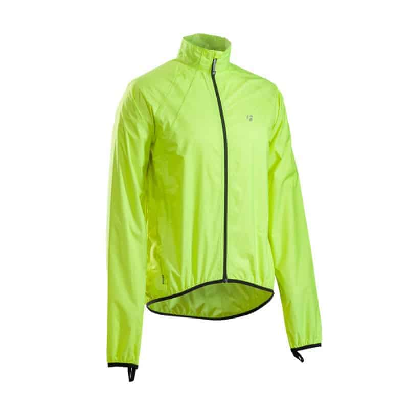 GIACCA ANTIVENTO BONTRAGER PACKABLE STORMSHELL colore GIALLO FLUO