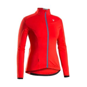 GIACCA CICLISMO BONTRAGER RXL WSD THERMAL LS JERSEY colore ROSSO taglia M
