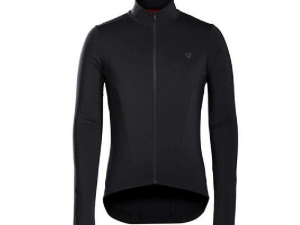 MAGLIA BONTRAGER VELOCIS THERMAL LONG SLEEVE JERSEY MAILLOT colore NERO
